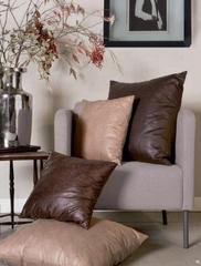 Подушка декоративная 42х42 Svad Dondi West End коричневая