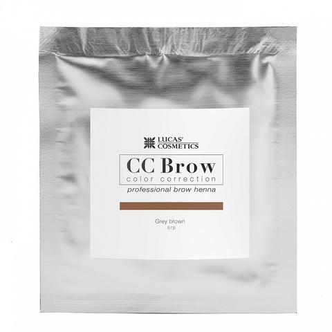 Хна для бровей CC Brows в саше, 5 гр. Цвет Серо- коричневый