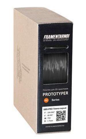 Пластик Filamentarno! SBS-Standart. Черный, 1.75 мм, 750 гр