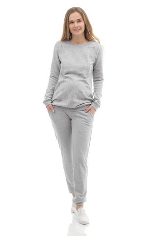 Брюки для беременных 09966 светло-серый