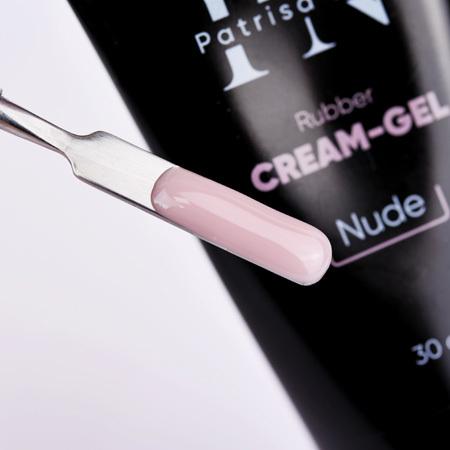 Patrisa Nail, Гель-крем в тюбике Rubber cream-gel, цв. nude 30 гр (фото 2)