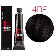 Goldwell Topchic 4BP (жемчужный горький шоколад) - Cтойкая крем краска 60мл