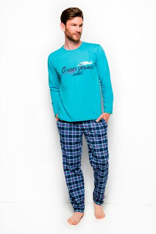 Мужская пижама 8W Mariusz 2257 Turquoise Taro