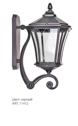 Светильник садово-парковый, 60W 230V E27 IP44 черный, PL4031 (Feron)