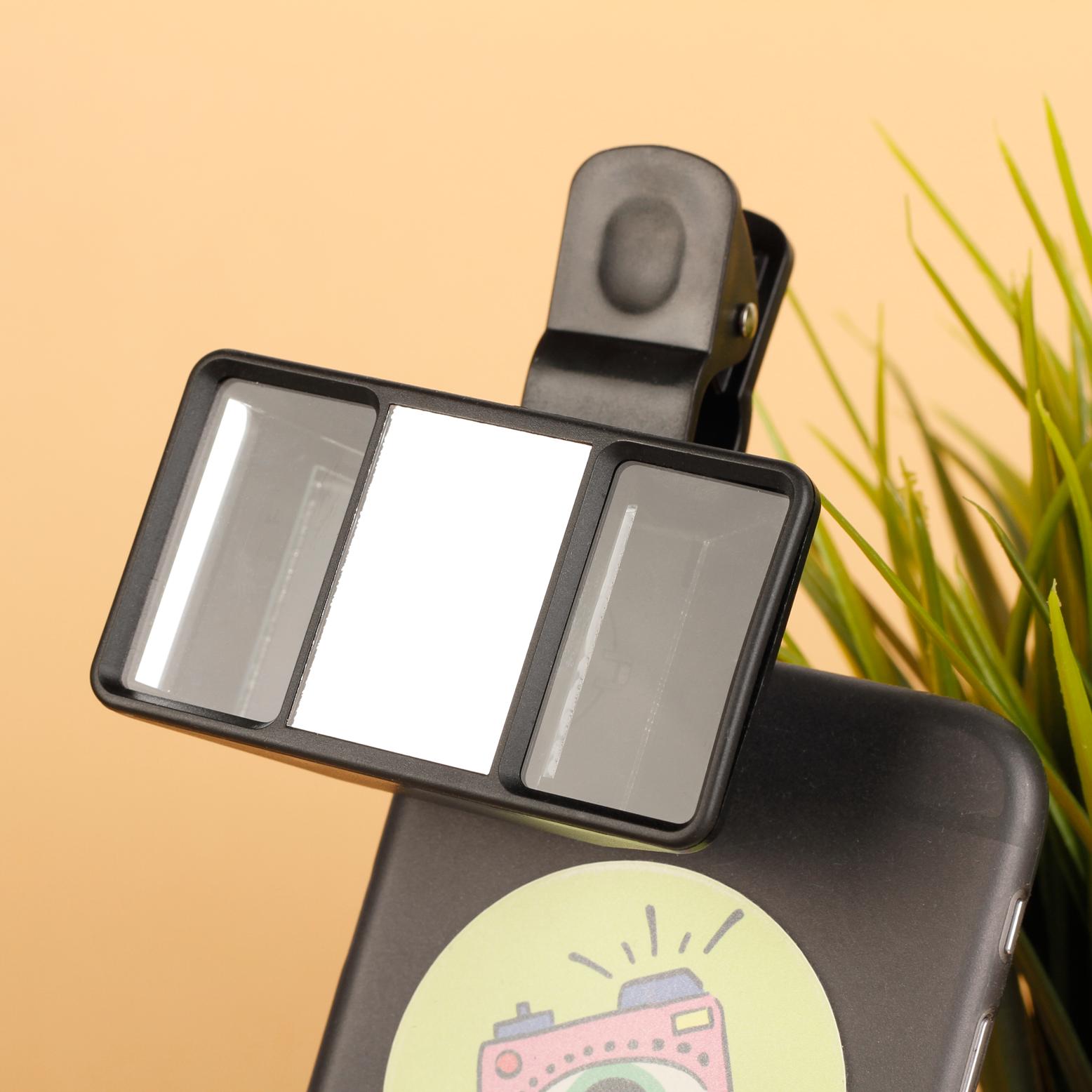 Стереоскопический объектив для телефона