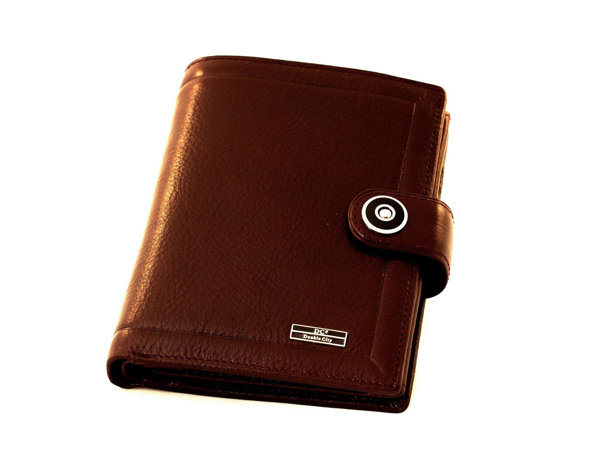 c615f6bc8202 Солидное рыжее мужское портмоне для денег и автодокументов из ...