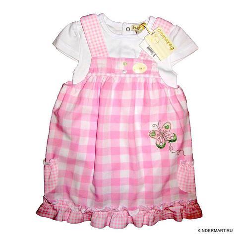 Платье для девочки 2 в 1 Babaluno Англия