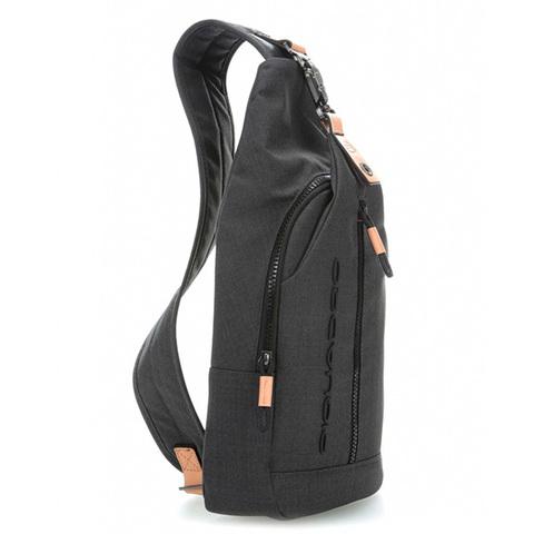 Рюкзак на одно плечо Piquadro Blade CA4536BL/N, black, фото 6