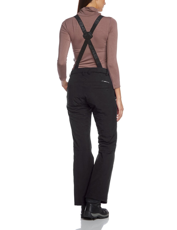Женские горнолыжные брюки 8848 Altitude WANNA black (679408) сзади
