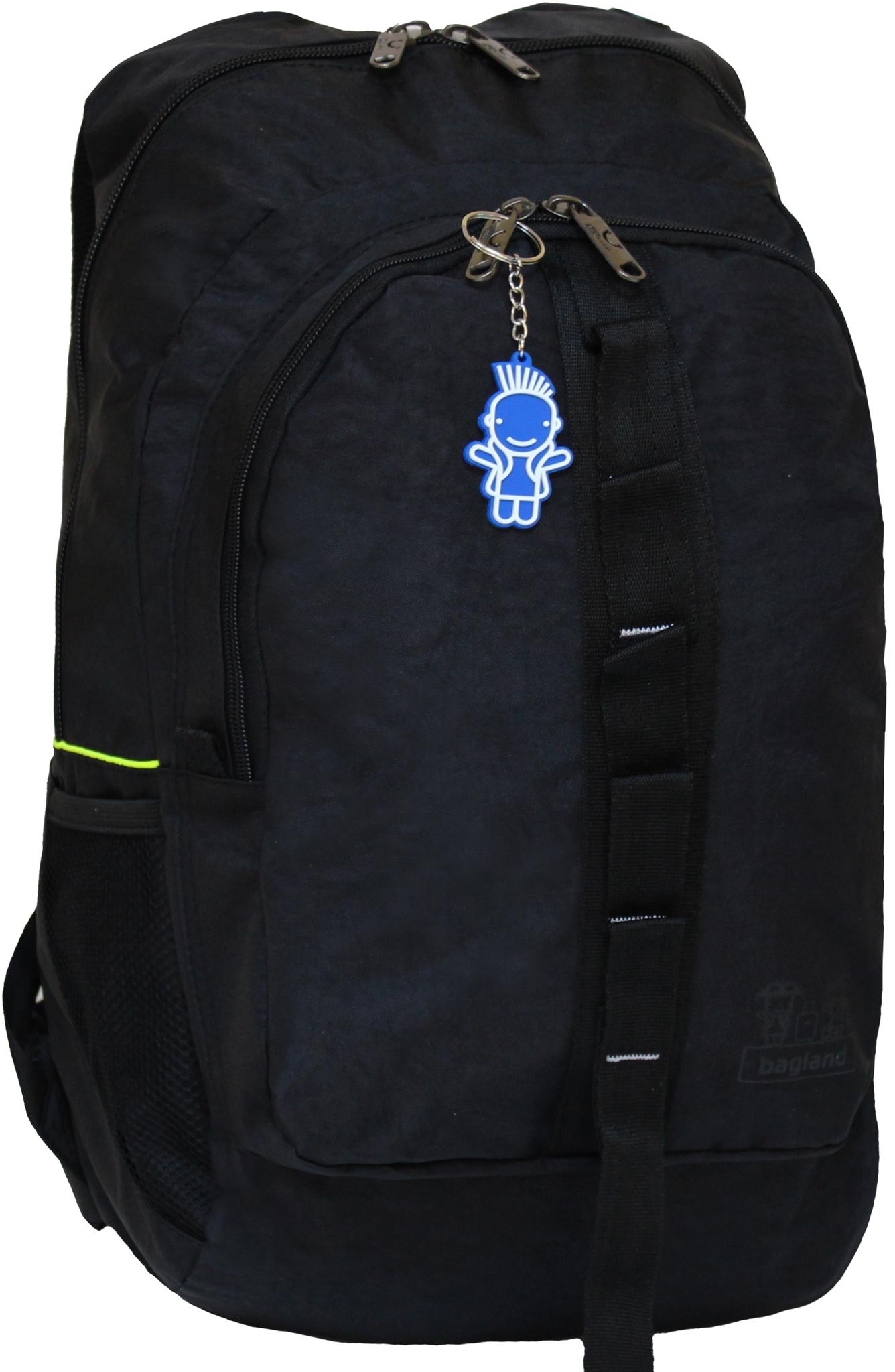 Городские рюкзаки Рюкзак Bagland Тайфун 26 л. Чёрный (0017770) IMG_0187.JPG