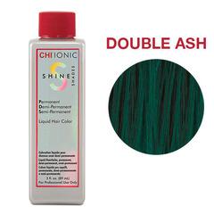 CHI Ionic Shine Shades Liquid Color DOUBLE ASH (Цветная добавка Двойной пепел) - Жидкая краска для волос