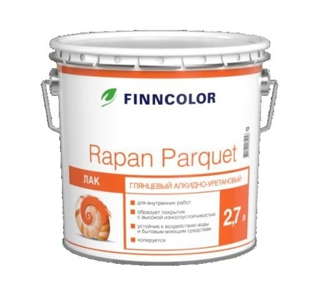 Finncolor Rapan Parquet / Финнколор Рапан Паркет полуматовый лак для пола