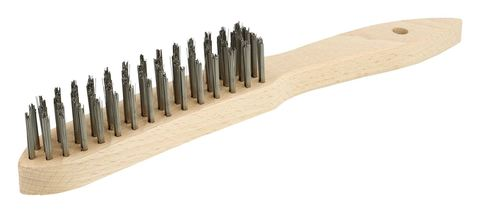 Ручная щетка с деревянной ручкой (0,35)