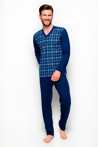 Мужская пижама 8W Roman 005-004-194 Dark Blue Taro