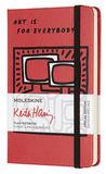 Блокнот Moleskine Limited Keith Haring Pocket 90x140мм 192стр нелинованный красный (LEKH01QP012)