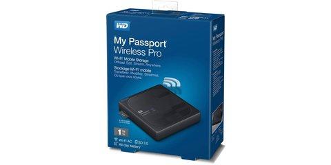 """Внешний жесткий диск WD My Passport Wireless Pro 1ТБ 2,5"""" 5400RPM USB 3.0/WiFi/SD бокс"""