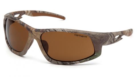 Очки баллистические стрелковые Pyramex Ironside CHRT618DT Anti-fog коричневые 23%