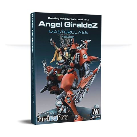 Painting Miniatures From A to Z - Angel Giraldez Masterclass vol.1 - REISSUE