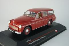 Warszawa 203 Kombi dark red 1965 IST081 IST Models 1:43