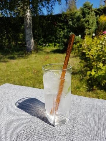 Трубочка стеклянная прямая