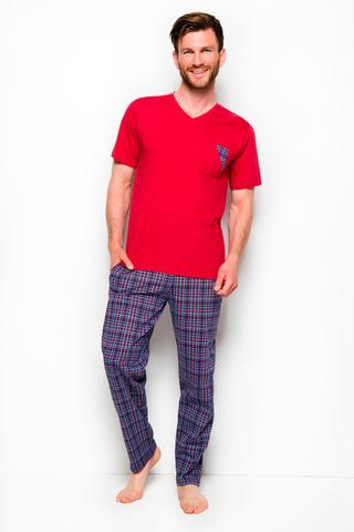 Мужская пижама 8W Tymon 2263 Red Taro