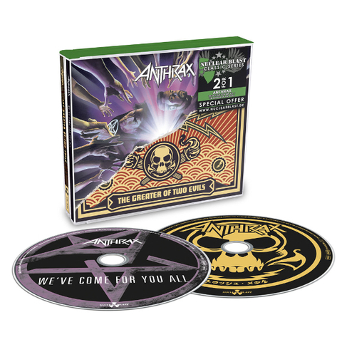 Anthrax / We've Come For You All + The Greater Of Two Evils (2CD)
