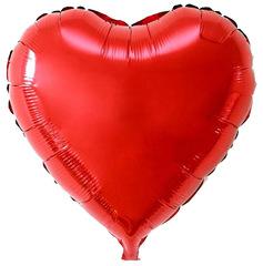Воздушный шар Сердце (Красное)