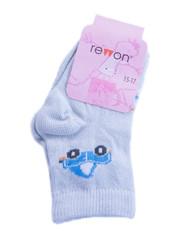 Носки детские Rewon, цвет: серый