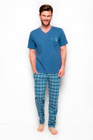 Мужская пижама 8W Tymon 2263 Blue Taro