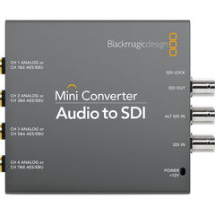 Конвертер Blackmagic Design Mini Converter Audio to SDI