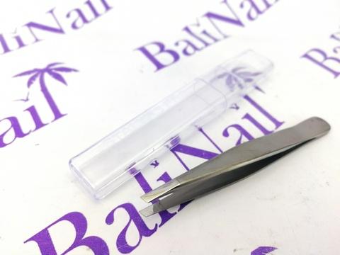 Staleks Пинцет для бровей BEAUTY & CARE 10 TYPE 3 широкие скошенные кромки,