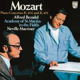Alfred Brendel, Academy Of St Martin In The Fields, Sir Neville Marriner / Mozart: Piano Concertos Nos. 20 & 24 (LP)