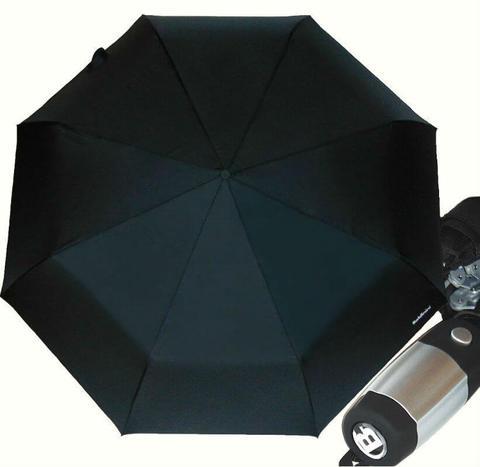 Большой черный зонт брутальный стиль