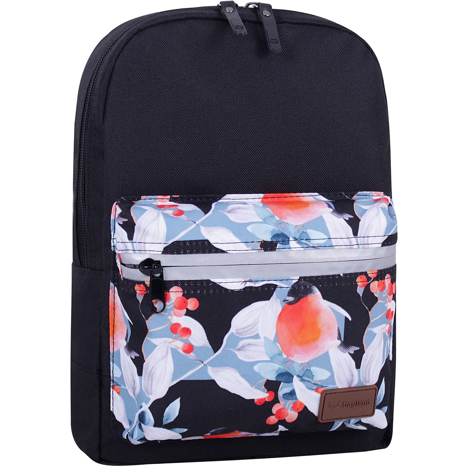 Детские рюкзаки Рюкзак Bagland Молодежный mini 8 л. черный 738 (0050866) IMG_8029_суб.738_.JPG