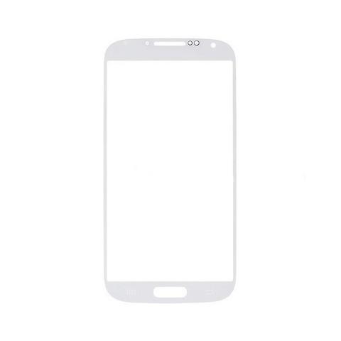 Стекло для Samsung GT-I9500 Galaxy S4, Белое/Черное