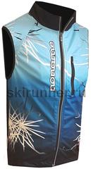Элитный лыжный жилет Noname ClubLine Elite Softshell Print Blue