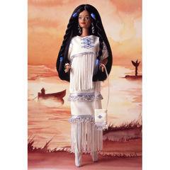 Кукла Барби Индианка (Native American) - Куклы Мира, Mattel