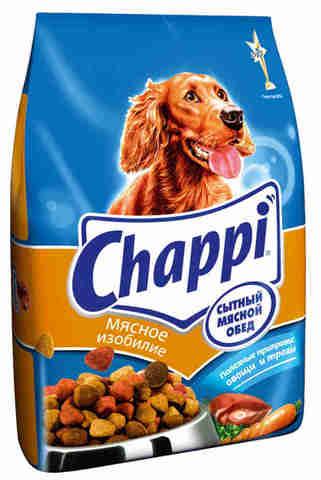 """Корм для собак """"Chappi"""" мясное изобилие 2,5кг"""