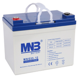 Аккумулятор для ИБП MNB MNG 33-12 (12V 33Ah / 12В 33Ач) - фотография