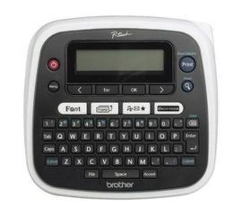 Принтер для печати наклеек Brother P-touch PT-D200 (настольный, от 3,5 до 12мм, 20мм/сек, 180 т/д, однострочный) PTD200R1