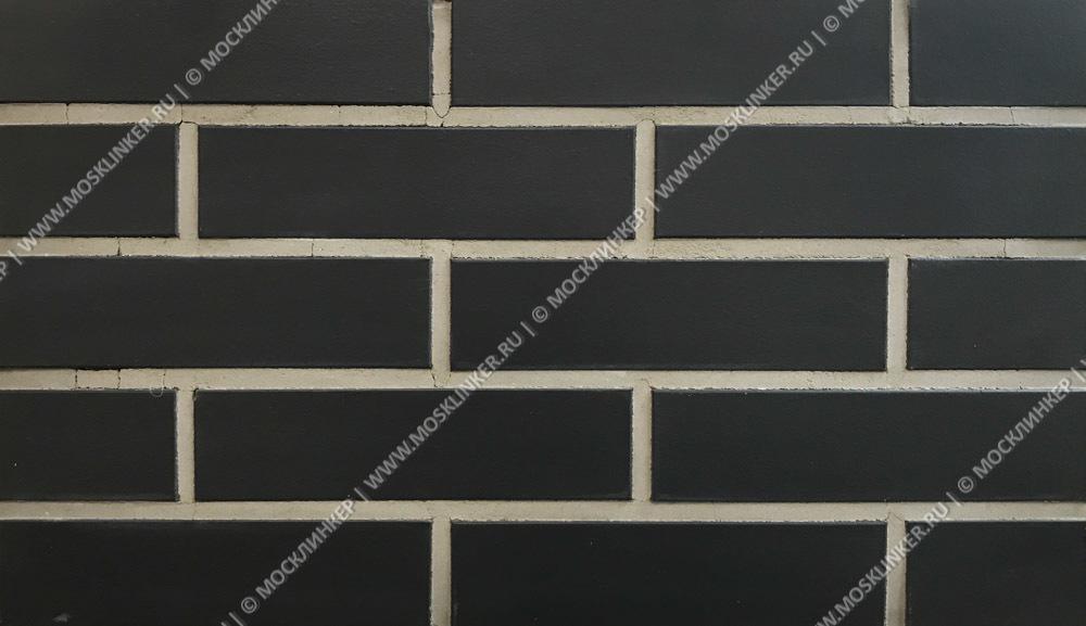 Фасадная плитка King Klinker, Volcanic black (18), Dream House, 65x250x10, RF