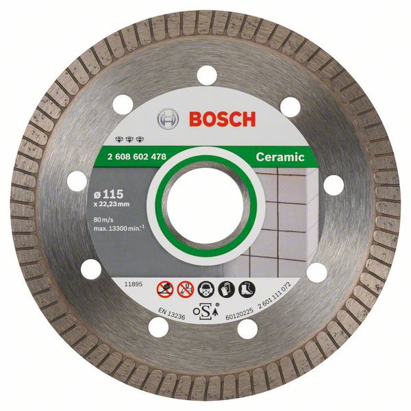 Алмазный диск Best for Ceramic 115-22,23 Bosch 2608602478