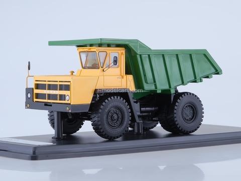 BELAZ-7522 dumper yellow-green 1:43 Start Scale Models (SSM)