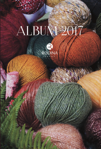 Журнал ALBUM 2017 Rodina Yarns