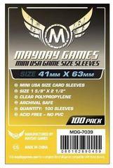 Протекторы для настольных игр Mayday Mini USA Game Size (41x63) - 100 штук