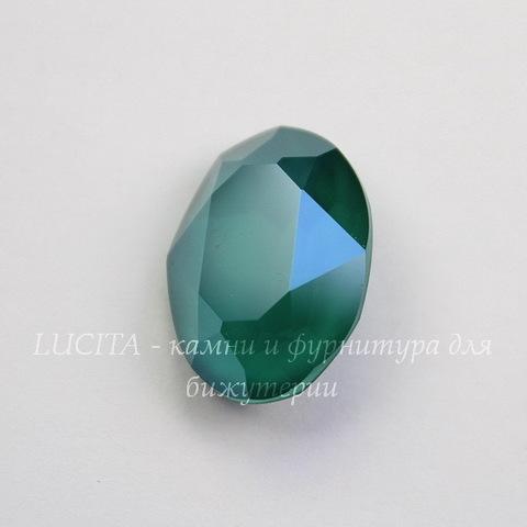 4120 Ювелирные стразы Сваровски Crystal Royal Green (18х13 мм)