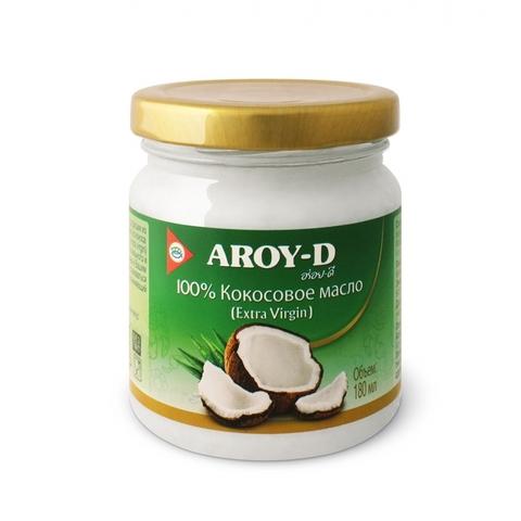 Кокосовое масло AROY-D (extra virgin)