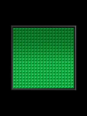 Акустическая съемная  панель ECHOTON piramida 900x900mm