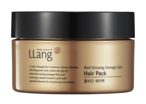 Llang Red Ginseng Damage Care Hair Pack