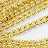 Цепь (цвет - золото) 2,4х1,8 мм, примерно 2 м